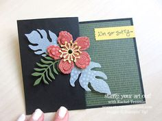 Z-Fold Botanical Builder Framelits Card