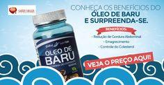 O Óleo de Baru é extraído da castanha do cerrado também conhecido como castanha de baru, ele aumenta a atividade de enzimas glutationa peroxidase, antioxidantes superóxido desmutase (SOD) e catalase (CAT) que são importante no processo de redução de estresse oxidativo e inibição da inflamação associados a obesidade. Confira! http://www.maissaudeebeleza.com.br/global-nutrition-oleo-de-baru-comprar-beneficios?utm_source=pinterest&utm_medium=link&utm_campaign=Óleo+de+Baru&utm_content=post