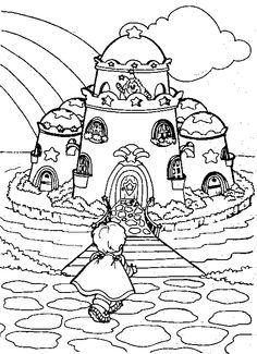 rainbow brites castle - Google Search