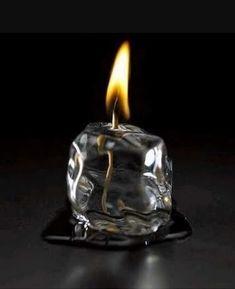 Ice cube candle! #hulla #hullavapes #hullacandles