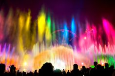 """""""World of Color Palette"""" #DCA from Kevin Crone at www.toursdepartingdaily.com - #toursdepartingdaily #disney"""