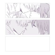 Anime Kiss, Manga Anime, Bendy Y Boris, Blood Anime, White Blood Cells, Cute Anime Couples, Quotes Deep Feelings, Couple Moments, Vinyl Paper