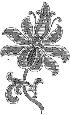 Gallery.ru / Фото #19 - Embroidery II - GWD Jacobean Embroidery, Crewel Embroidery, Cross Stitch Embroidery, Wool Applique, Applique Patterns, Applique Quilts, Embroidery Stitches Tutorial, Embroidery Designs, Embroidered Flowers