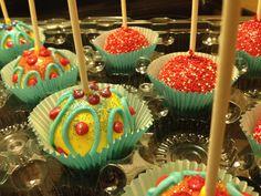 Carnival cake balls cake pops cake truffles