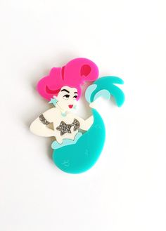 Josie the Mermaid Brooch | Deer Arrow