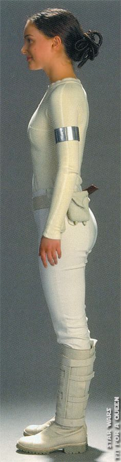 Star Wars Padme Amidala Arena Outfit Without Cloak - Side view