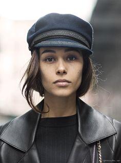 Sail Away, captain's hat, winter accessories / Garance Doré
