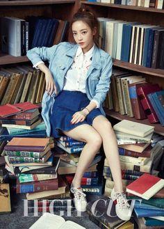 KARA's Goo Hara Poses with BTOB's Sungjae, Minhyuk, and Ilhoon in High Cut Magazine | Koogle TV