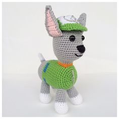 Rocky is a clever Eco-puppy and a member of the PAW Patrol - TV Series for kids. He uses his handy hand to pick up pieces that could be recycled.