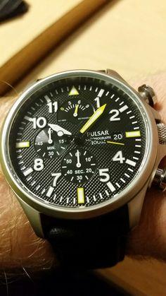My Pulsar PS6 series chronograph