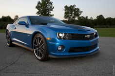 2013 Camaro Hot Wheels Edition Chevrolet i will take one in blue...same exact color and extras, here's my address...