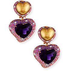 Margot McKinney Jewelry Hearts Desire South Sea Pearl & Peridot Detachable Drop Earrings C9pLbCB