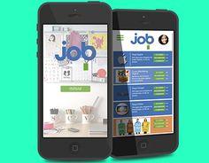 """Check out new work on my @Behance portfolio: """"Aplicativo Job - Ser o que te faz feliz"""" http://be.net/gallery/40755585/Aplicativo-Job-Ser-o-que-te-faz-feliz"""