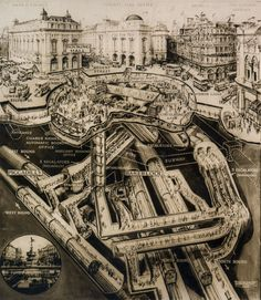 Piccadilly Circus - London Underground