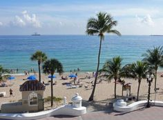 The beach at Fort Lauderdale