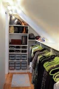 Walk In Closet w/ Slanted ceiling / Closet Organizing Systems | Closets |  Pinterest | Slanted ceiling, Slanted ceiling closet and Ceiling