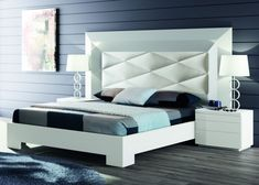 DORMITORIOS - BEDS Elegant Bedroom Design, Master Bedroom Design, Modern Bedroom, Space Saving Furniture, Living Room Furniture, Bedroom Furniture, Bedroom 2018, Bedroom Sets, Cama King