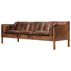 Børge Mogensen Sofa Model 2213 by Fredericia Stolefabrik in Denmark   From a unique collection of antique and modern sofas at https://www.1stdibs.com/furniture/seating/sofas/