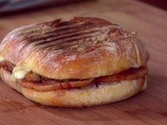 Breakfast Panini recipe from Giada De Laurentiis via Food Network