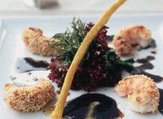 Salade de langoustines poêlées