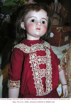 Fine Porcelain China Diane Japan Value Info: 1413181080 Old Dolls, Antique Dolls, Vintage Dolls, French Antiques, Vintage Antiques, French Beauty, Doll Costume, Doll Maker, Dollhouse Dolls