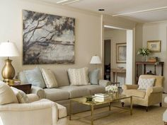 42 Ideas Living Room Paint Beige Couch Benjamin Moore For 2019 Best Neutral Paint Colors, Neutral Paint Color, Living Room Designs, Living Room Paint, Beige Walls, Room, Beautiful Living Rooms, Beige Living Rooms, Room Decor