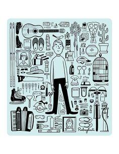 Paul et ses bébelles, Michel Rabagliati French Lessons, Beautiful Drawings, Typography Prints, Michel, Quebec, Graphic, Comic Art, Book Art, Comics