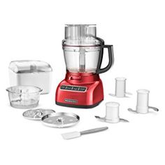 Amazon.com: KitchenAid Food Processor with ExactSlice System RKFP1333CU, 13-Cup, Contour Silver, (Certified Refurbished): Kitchen & Dining