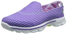 Skechers Damen GO Walk 3 Sneakers, Violett (Pur), 35 EU - http://on-line-kaufen.de/skechers/35-eu-skechers-go-walk-3-damen-sneakers-10
