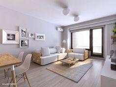 open white living room