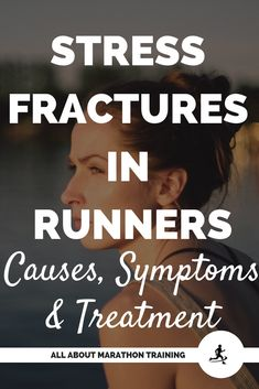 Stress fractures are something that many runners face. Unfortunately, if not treated properly, they can become a very severe injury overtime. Half Marathon Motivation, Marathon Tips, Running Motivation, Running Quotes, Running For Beginners, How To Start Running, Beginner Half Marathon Training, What Causes Stress, Beginner Runner Tips