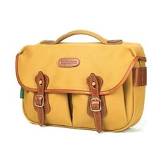 [Billingham] Hadley PRO Khaki FibreNyte Tan Leather DSLR Camera Shoulder Bag