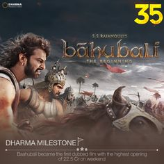 #Baahubali took the country by storm and created history with its Box-Office collection! #35YearsOfDharma
