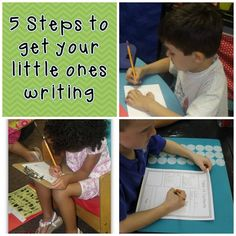 Mrs Jump's class: Writer's Workshop: Five Steps to Get Your Little Ones Writing