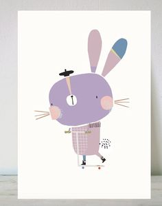Corby Tindersticks, Such a cute little purple bunny