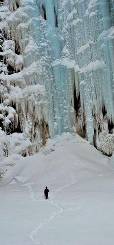 Incredible Pics: Njupeskär Waterfall, Sweden