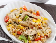Chicken and rice chow-chow 6–8 servings http://tastic-redpot.co.za/feature-recipes/5-chicken-and-rice-chow-chow.html