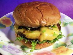 Portobello Burger with Basil