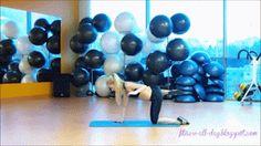 Równowaga - plecy, brzuch