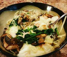 Homemade Spinach Portobello Linguini