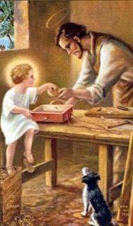 """San José: Pensamiento y meditación del día 29 de marzo - Modelo de vida doméstica """"Dios te salve, oh José, esposo de María, lleno de gracia, Jesús y su Madre están contigo, Bendito tú eres entre todos los hombres y Bendito es Jesús el Hijo de María. San José, ruega por nosotros, pecadores, ahora y en la hora de nuestra muerte. Amén"""""""