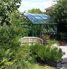 A Hartley Botanic greenhouse in situ #Greenhouse #Glasshouse #Hartley #Gardening #GrowYourOwn #Garden