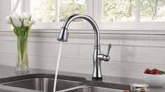 The Cassidy Kitchen faucet offers traditional styling