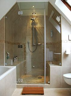 I Want To Shower That Doubles As A Steam Room! : )