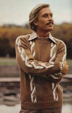 Yarn Inspiration, Design Inspiration, Hello Ladies, Retro Men, Knit Crochet, Crochet Style, Vintage Knitting, Crochet Fashion, Knitting Designs