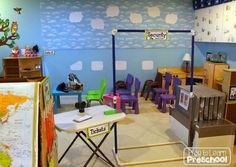 Dramatic play airport: Maps, ticket stations, security gates and pilot costumes create this entire set! Dramatic play airport: Maps, ticket stations, security gates and pilot costumes create this entire set! Dramatic Play Area, Dramatic Play Centers, Classroom Setting, Classroom Themes, Airport Theme, Airport Jobs, Transportation Theme Preschool, Play Corner, Role Play Areas