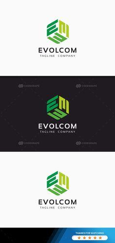 Evolcom E Letter Logo - Prints 3 Letter Logo, Logo Branding, Branding Design, Optic Logo, Create Logo, Mobile Phone Logo, Logo Simple, Font Names, Canvas Quotes