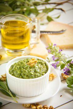 Sage and Walnut Pesto