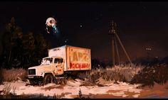 light of reason by N kayurova on ArtStation.
