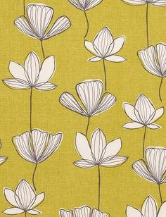 This fabric would look amazing on a wall above white wainscot